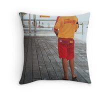 The 'life saver' Cairns Lagoon.  Throw Pillow