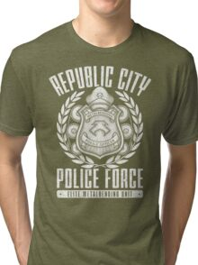 Avatar Republic City Police Force Tri-blend T-Shirt