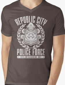 Avatar Republic City Police Force Mens V-Neck T-Shirt