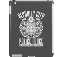 Avatar Republic City Police Force iPad Case/Skin