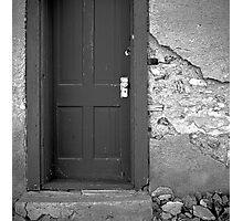 Old Post Office Door Photographic Print