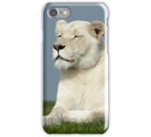 White lioness iPhone case iPhone Case/Skin