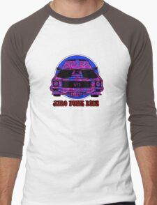 Spirals in Afro Funk Ride Men's Baseball ¾ T-Shirt