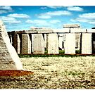Stonehenge Char by Dave  Grubb