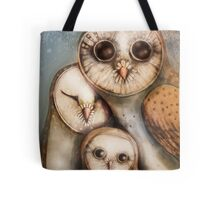 three wise owls Tote Bag