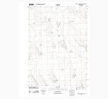 USGS Topo Map Oregon Murphy Waterholes 20110816 TM Baby Tee