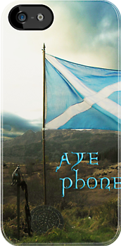 the scottish aye phone cover! by joak