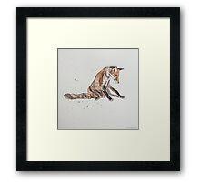 Swift Art, Fox Framed Print