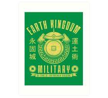 Avatar Earth Kingdom Art Print