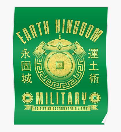 Avatar Earth Kingdom Poster