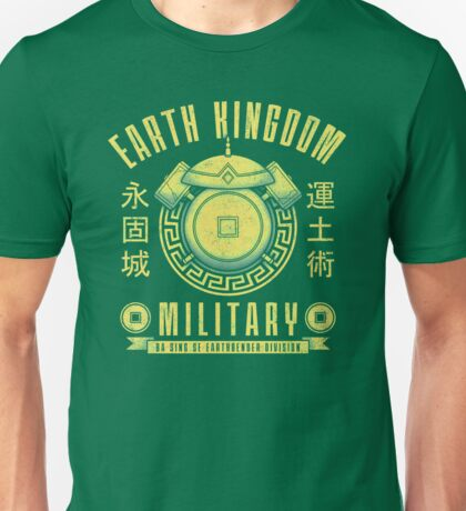 Avatar Earth Kingdom Unisex T-Shirt