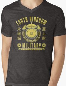 Avatar Earth Kingdom Mens V-Neck T-Shirt