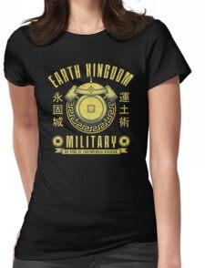 Avatar Earth Kingdom Womens Fitted T-Shirt