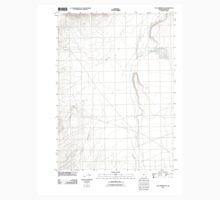 USGS Topo Map Oregon Tule Springs NE 20110818 TM Kids Tee