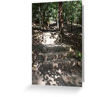 Pathway Study #3 by Robert Walmsley-Evans Greeting Card