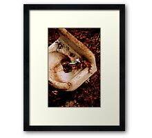 You Can't Wash Your Hands Here Framed Print