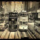 Hong Kong trams by Cara Gallardo Weil