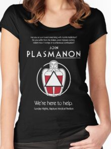 PLASMAnon Women's Fitted Scoop T-Shirt