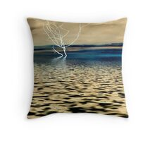 Ghost Branch Throw Pillow