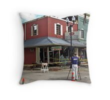 After the Fire Throw Pillow