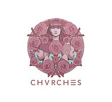 CHVRCHES Limited Edition Poster #2 - Every Eye Open Photographic Print