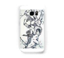 QUILL PEN  BIRDS Samsung Galaxy Case/Skin
