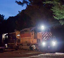 The Night Train by Matthew Modica