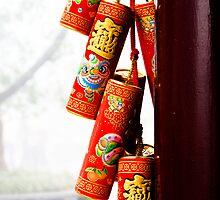 Hong Kong Red by Marnie Hibbert