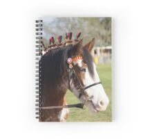 Draft horse decorated Spiral Notebook