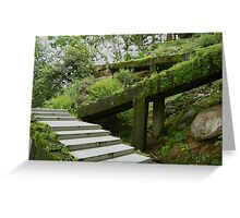 Ancient Steps Greeting Card