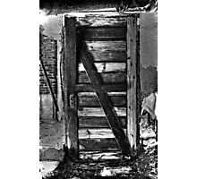 Door with no wall?? Photographic Print