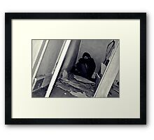 Scary Movie Maybe? Framed Print