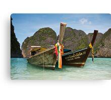 The Thai Postcard Canvas Print
