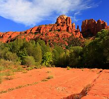 Cathedral Rock by Candy Gemmill