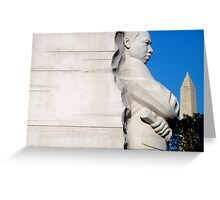 MLK MEMORIAL - A TRIBUTE  ^ Greeting Card