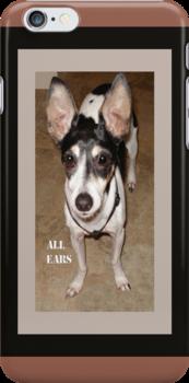 All Ears iPhone Case by Rosalie Scanlon
