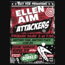 Ellen Aim and the Attackers by superiorgraphix