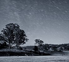 Star Trails by Belinda  Churchill