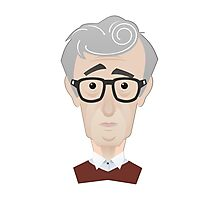 Woody Allen Photographic Print
