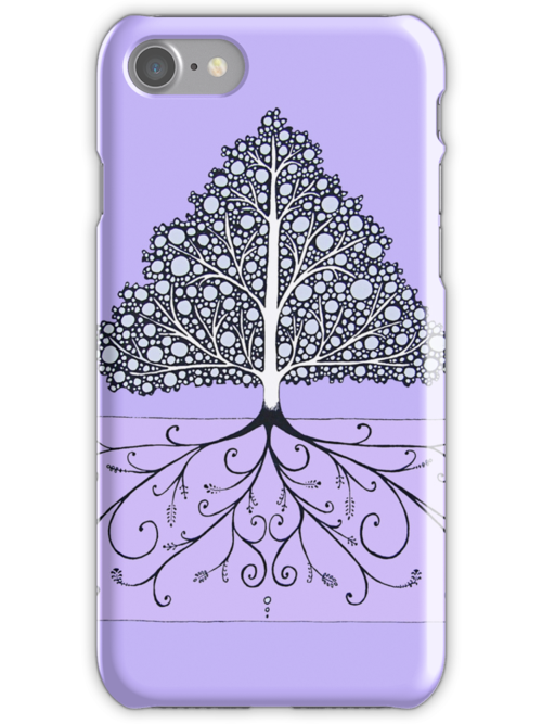 iPhone Girly Tree by eleveneleven