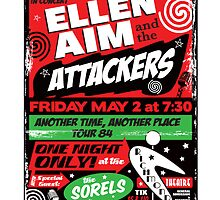 Ellen Aim & the Attackers by superiorgraphix