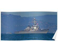 USS Milius Poster