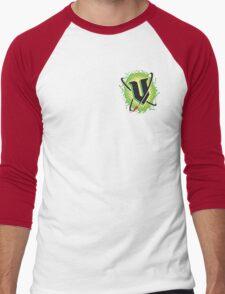 V Energy Logo 2015 (Corner) Men's Baseball ¾ T-Shirt