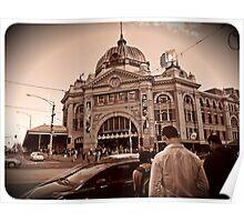 Far Flinders Station Poster