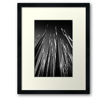 Ground Up Framed Print