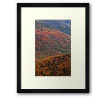 Painted Hills - Great Smoky Mountains NP, Tennessee Framed Print