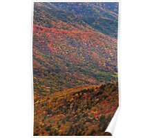 Painted Hills - Great Smoky Mountains NP, Tennessee Poster