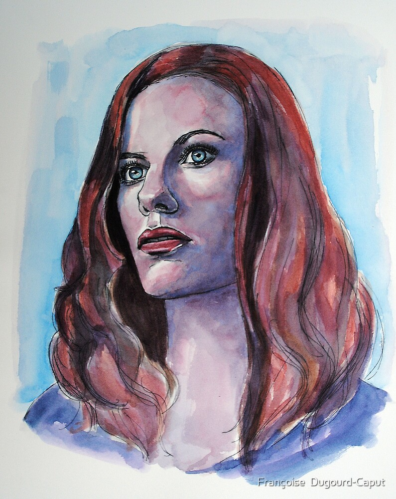 Cassidy Freeman, featured in The Group, Painters universe by Françoise  Dugourd-Caput