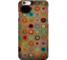 Whimsical funny circles iPhone Case/Skin