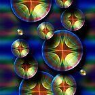 i-Bubbles (iPhone case) by Belinda Osgood